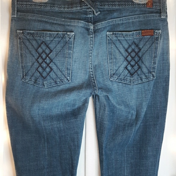 7 For All Mankind Denim - 7 FAM bootcut jeans